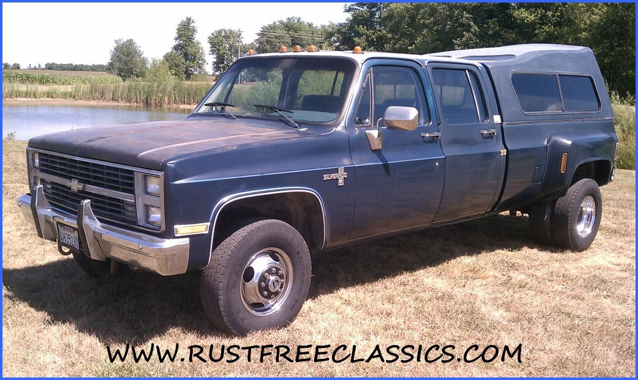 All Chevy 1987 chevy crew cab 4×4 : 1986 86 Chevrolet Chevy K30 1 one ton 4x4 Four Wheel Drive Regular ...